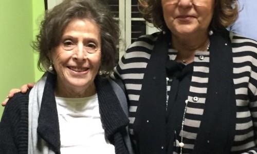 Da sin: Maria Grazia Castello (pres. IO, domani), Anna D'Antonio (pres. Piccoli Raggi).