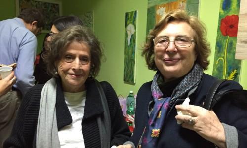Da sin: Maria Grazia Castello (pres. IO, domani), prof.ssa Anna Clerico (primario Oncologia Pediatrica Umberto I).
