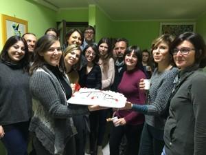 Il gruppo di volontari di IO, domani presente all'inaugurazione della nuova casa accoglienza.