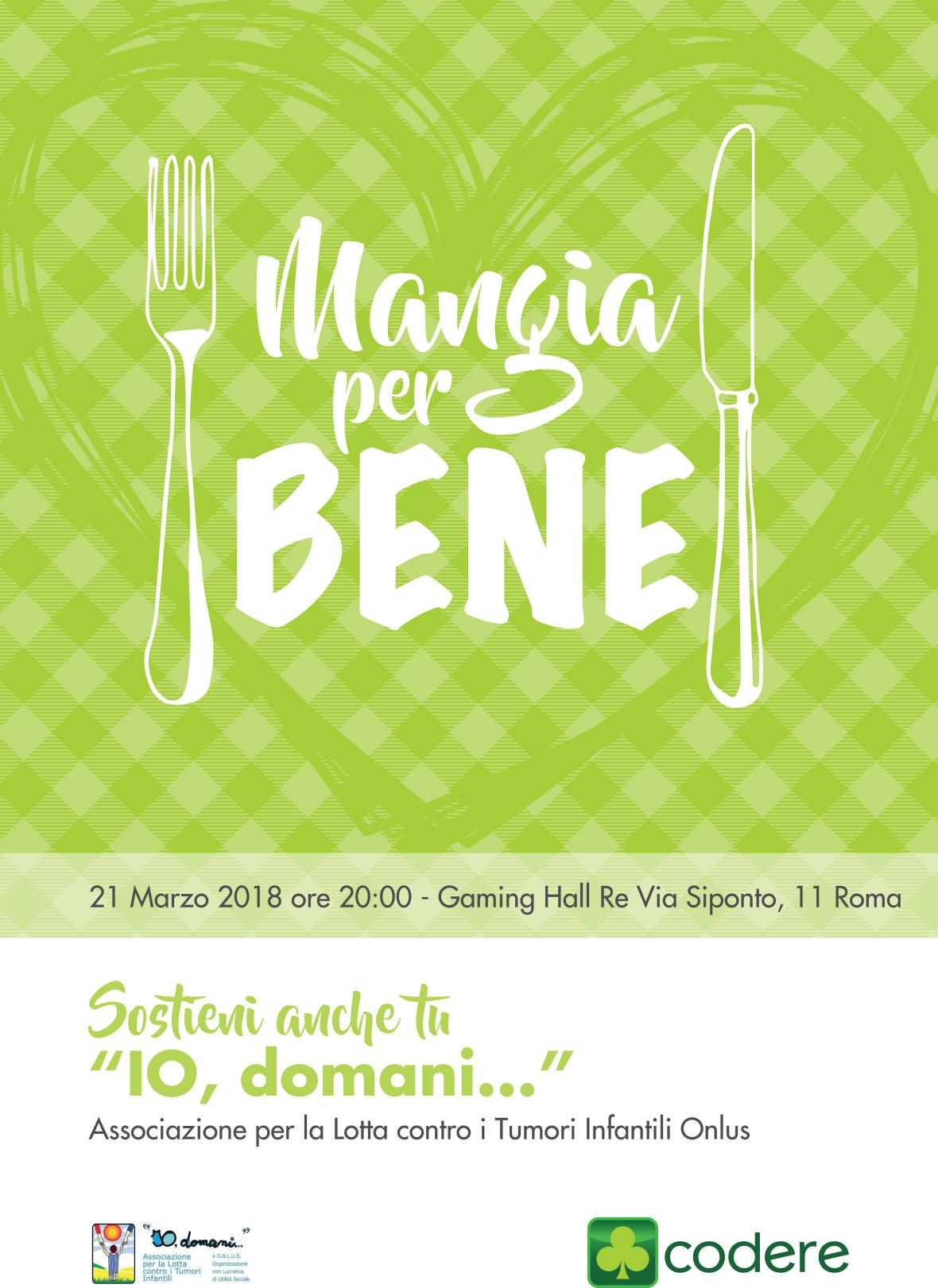 MangiaPerBene_Locandina-21-03-2018_70x100